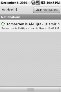 Islamic Calendar - screenshot thumbnail