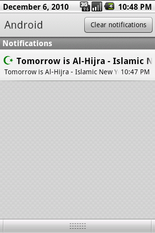 Islamic Calendar- screenshot
