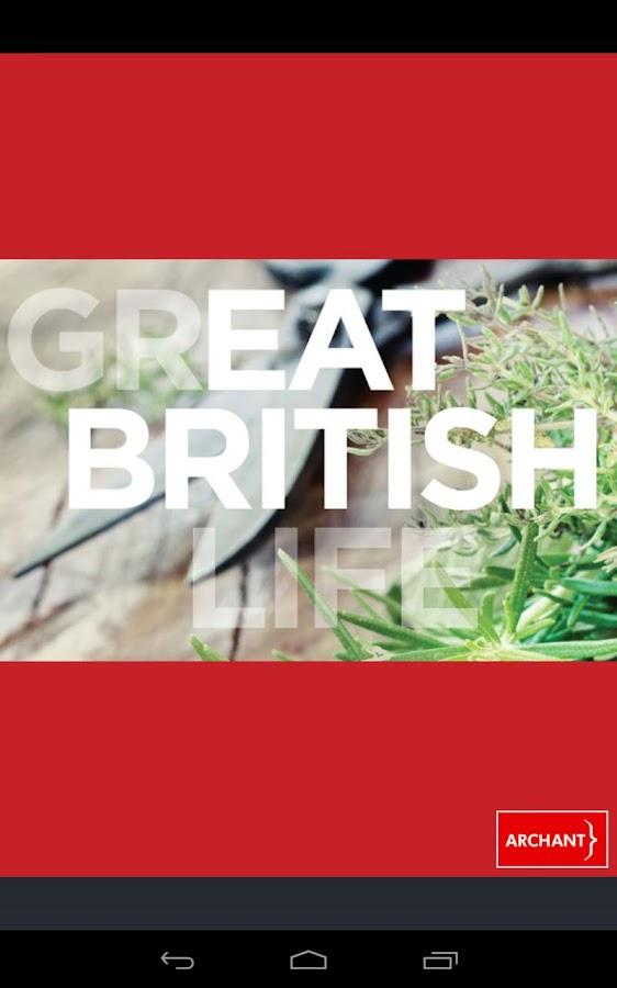 Eat British - Seasonal Recipes- screenshot