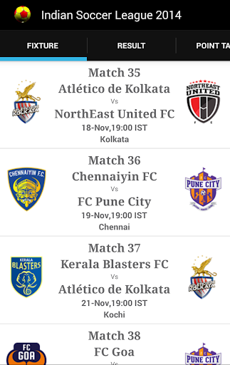 Indian Soccer League 2014