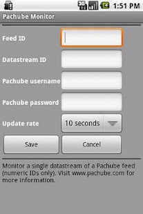 Pachube Widget (Official)- screenshot thumbnail