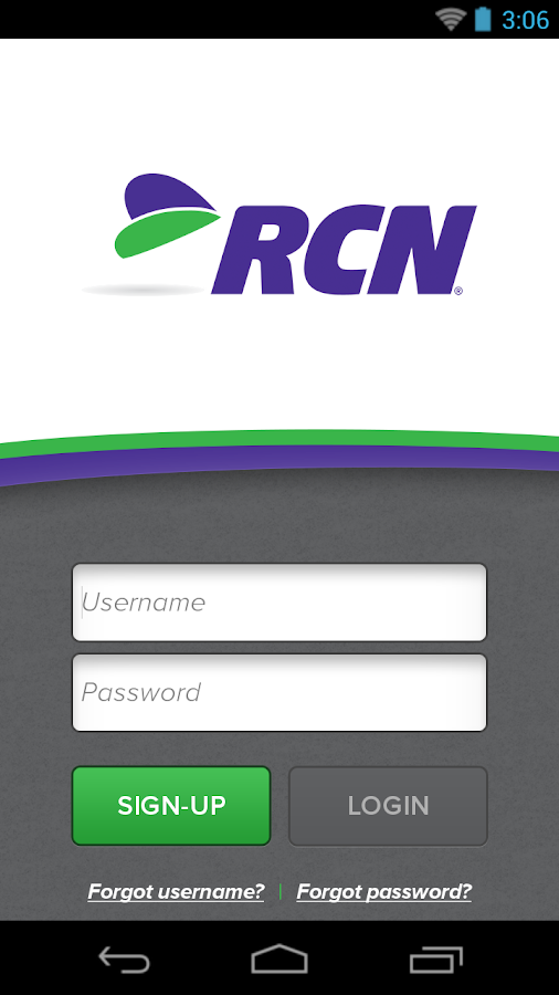 Get the Most from your RCN Service. Enjoy all of the perks that come with your RCN subscription. Your MyRCN account opens the door to conveniences and awesome features included FREE with your RCN services.