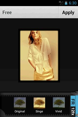 NR Photo Editor Advance - screenshot