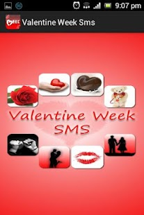 Valentine Week SMS collection - screenshot thumbnail