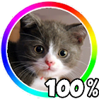 Cat Battery Widget icon