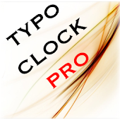 Typo Digit Clock Widget