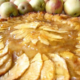 Caramelised Apple Tart Autumn.