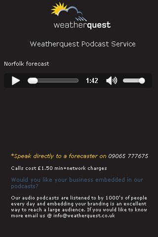 Weatherquest Podcast - screenshot