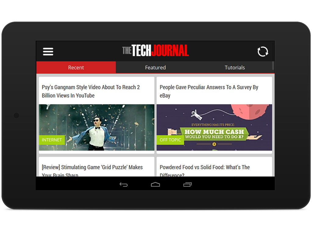 The Tech Journal - Tech News- screenshot