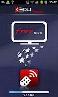 Screenshot of Keoli Remote FreeBox