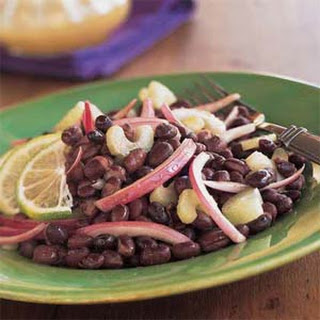 Black Bean Salad with Lime-Cumin Dressing