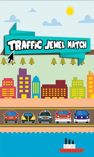 Traffic Jewels Match