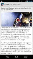 Screenshot of Pocket - Luan Santana