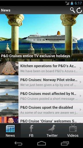 CSN: P O Cruises