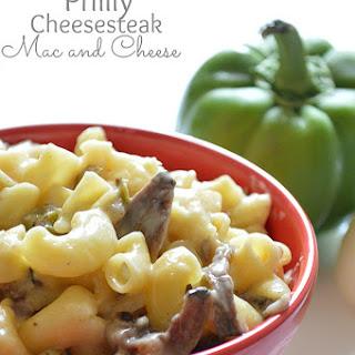 Philly Cheesesteak Mac and Cheese Recipe