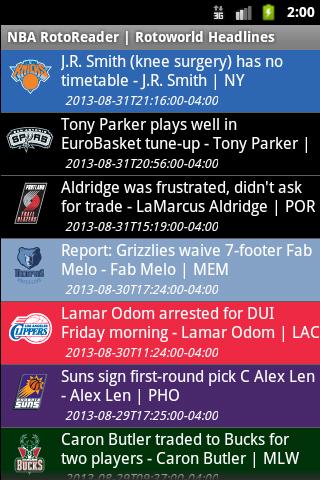 玩運動App|NBA RotoReader免費|APP試玩