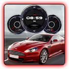 Aston Martin DBS Clock HD LWP icon