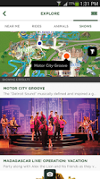 Screenshot of Busch Gardens Discovery Guide