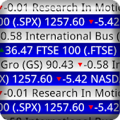 Stock Ticker Tape Pro Widget