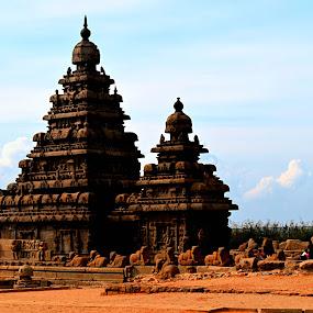 mahabalipuram by Sankar GM - Buildings & Architecture Public & Historical ( mahabalipuram )