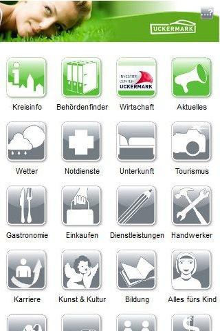 Cityguide Uckermark - screenshot