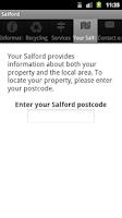 Screenshot of Salford City Council