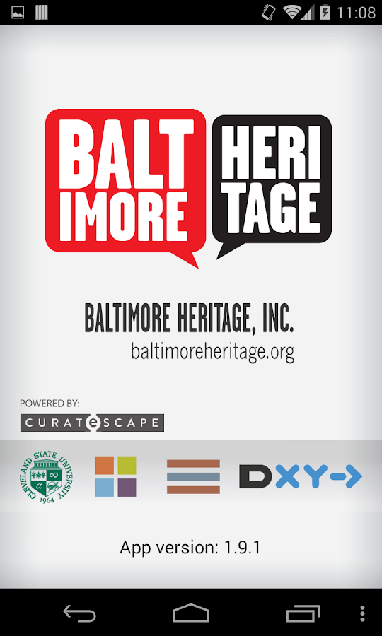 Explore Baltimore Heritage - screenshot