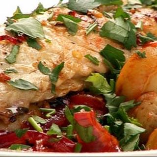 Chilli Mackerel With Warm Chorizo And New Potato Salad.