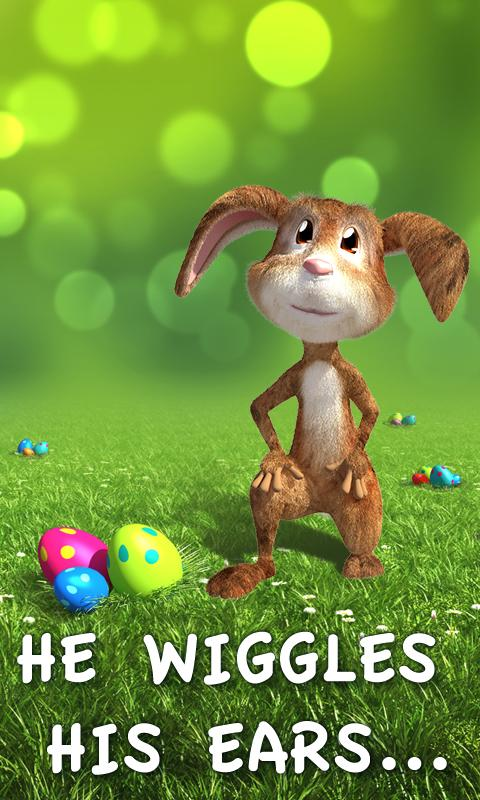 Easter Bunny Live Wallpaper - screenshot