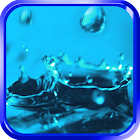 Water drops live wallpaper icon