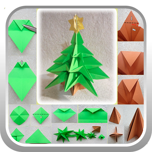 Origami tree LOGO-APP點子