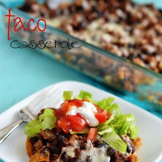 Light Taco Casserole