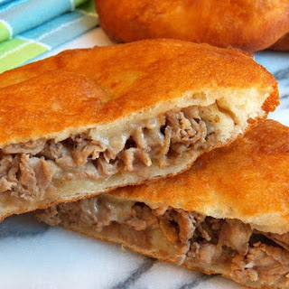 Steak and Cheese Fried Dough