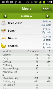 Calorie Counter PRO MyNetDiary - screenshot thumbnail