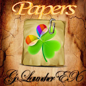 Go Launcher EX Theme Papers