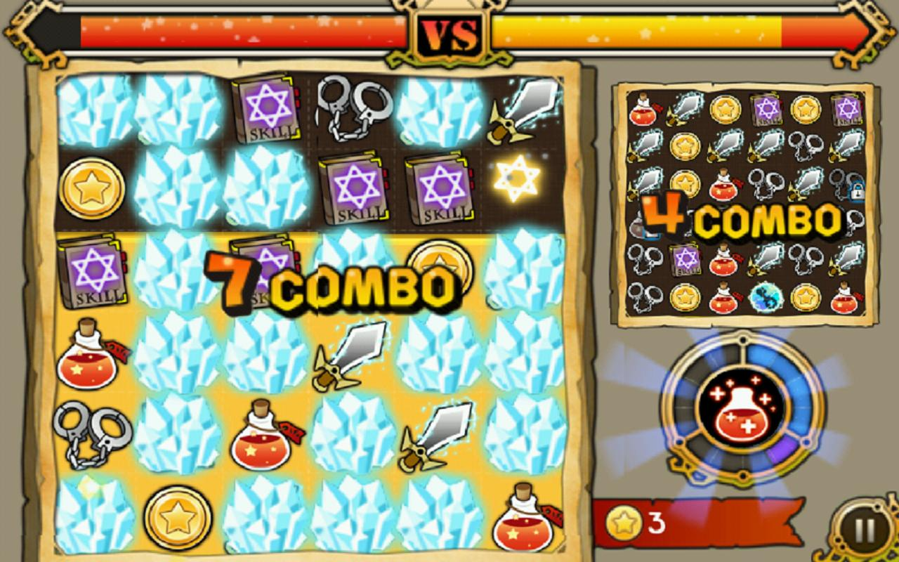 Witch Wars: Puzzle - screenshot