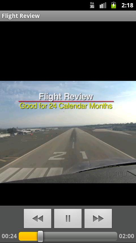 Sporty's Flight Review - screenshot