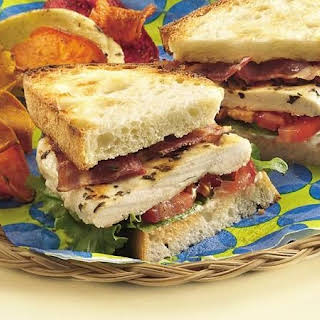 Grilled Chicken BLT Sandwiches.
