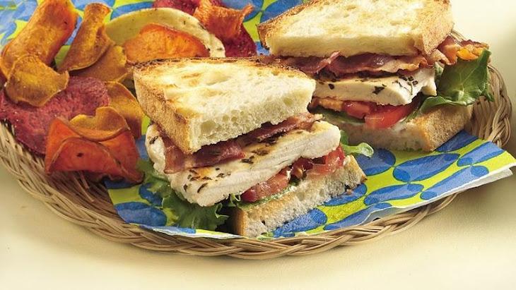 Grilled Chicken BLT Sandwiches Recipe