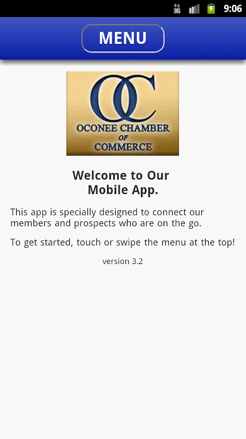 Oconee County Chamber- screenshot