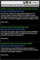 Screenshot of Tennis GrandSlam Champs Lite