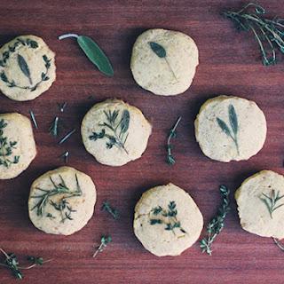 Grain-Free Pressed Herb Biscuits