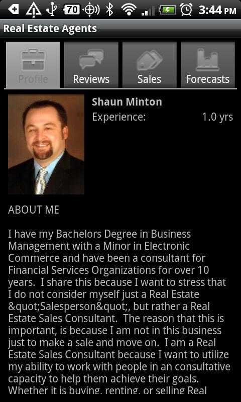 Real Estate Agents - screenshot