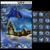 GO Launcher Theme Holy Night