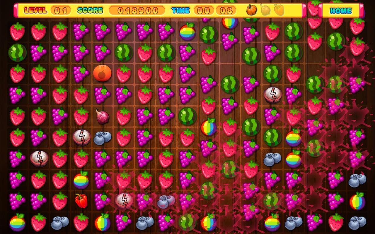 Crush The Fruits- screenshot