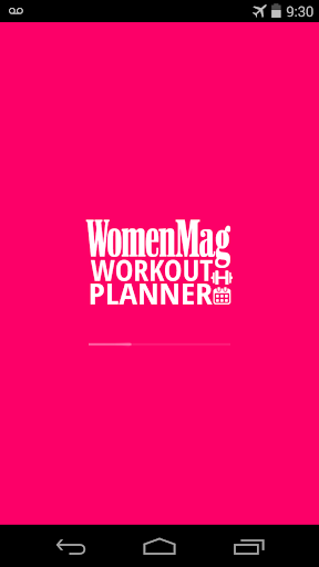 WomenMag Workout Planner