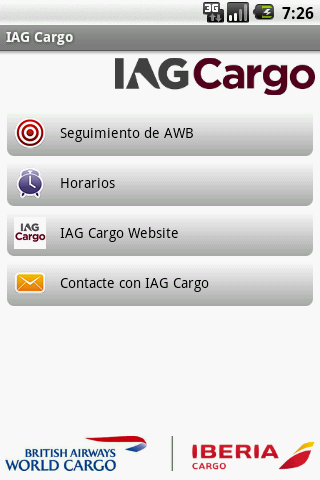IAG Cargo- screenshot