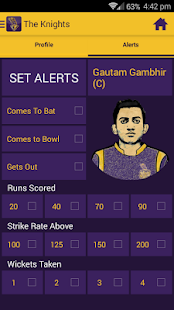 Kolkata Knight Riders IPL 2015- screenshot thumbnail