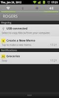 Screenshot of MemoPad