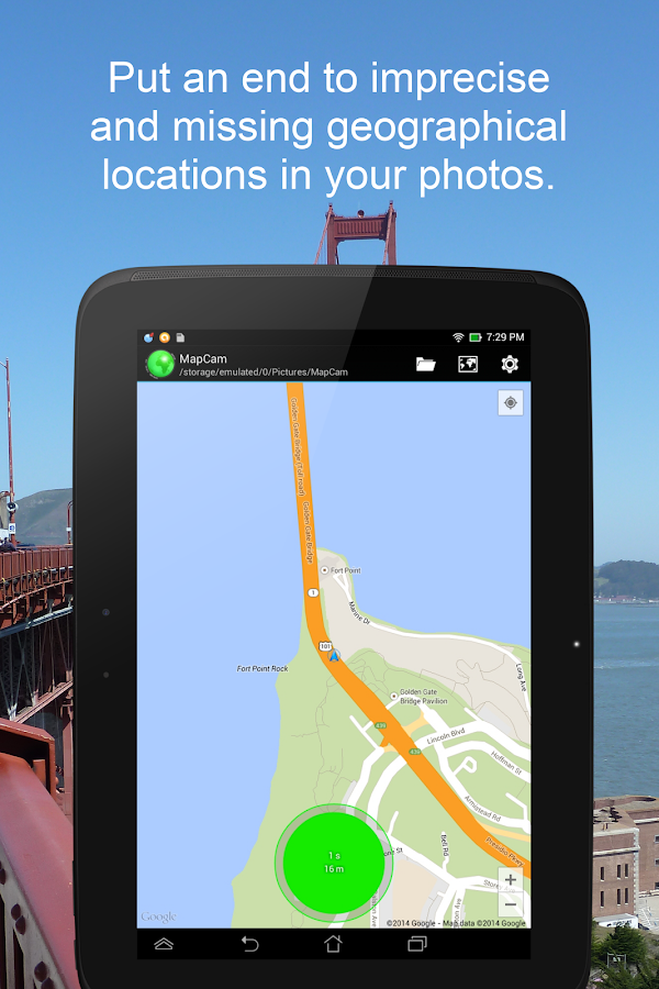 MapCam - Geo Camera & Collages- screenshot